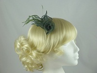  Flower & Leaves Fascinator